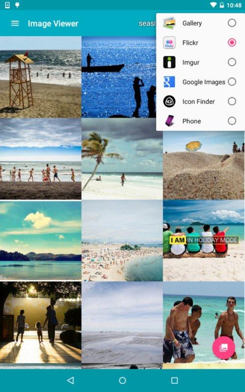 Публикация картинок в соцсетях с ImageViewer