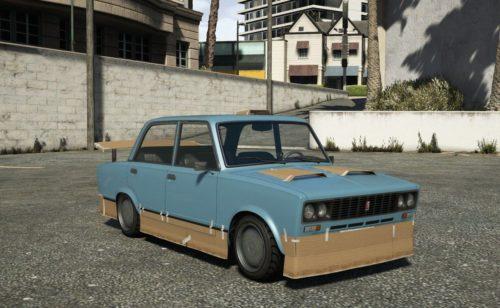 ВАЗ 2106 чебурек в игре GTA