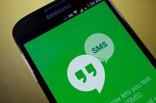 Приложение Hangouts на смартфоне