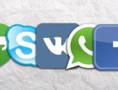 Логотипы мессенджеров