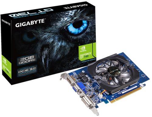 Видеокарта Gigabyte PCI-Ex GeForce GT 730 2048MB GDDR5