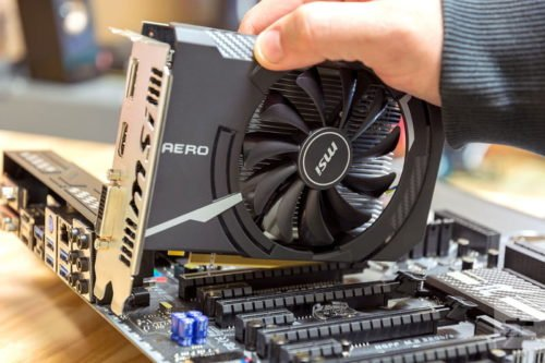 Видеокарта MSI PCI-Ex Radeon RX 550 Aero ITX OC 2GB GDDR5