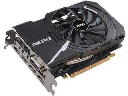 Видеокарта MSI PCI-Ex GeForce GTX 1060 Aero ITX OC 6GB GDDR5