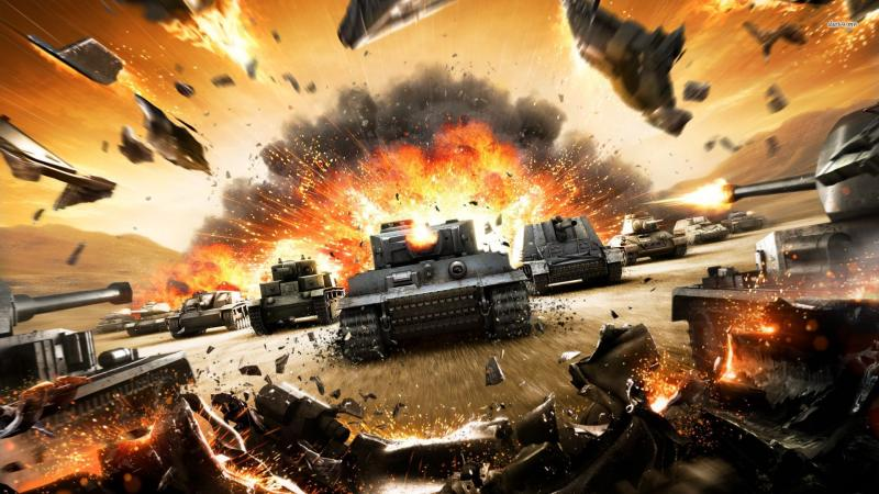 Скриншот из игры World of Tanks
