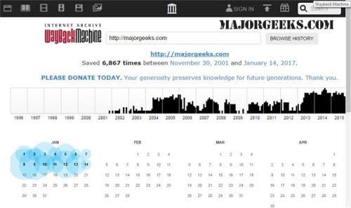 Сайт web.archive.org