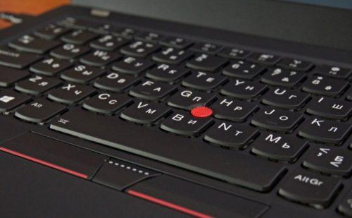 Обзор, клавиатура Lenovo ThinkPad x1 Carbon