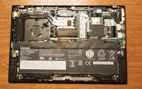 Открытый корпус ультрабука Lenovo ThinkPad x1 Carbon