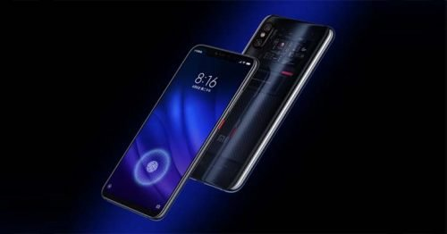 Xiaomi Mi8 Screen Fingerprint Edition