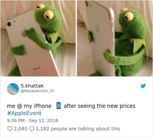 мемы про новый айфон