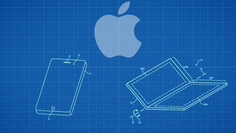 складывающийся смартфон от apple