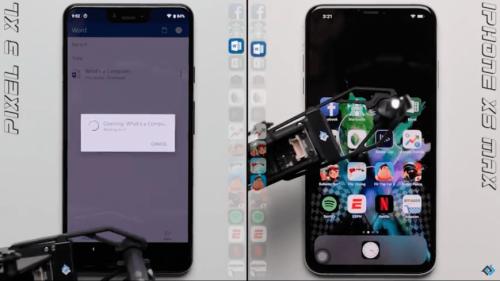Google Pixel 3 XL и iPhone XS Max