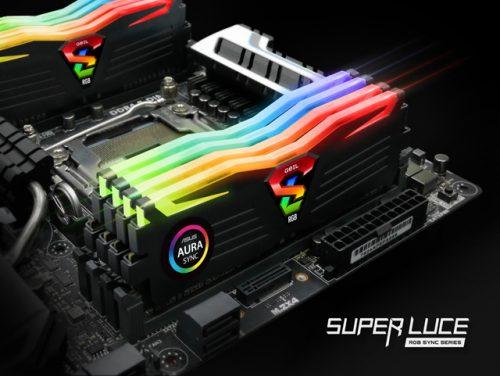 Super Luce RGB Sync DDR4–3200/3600/4133