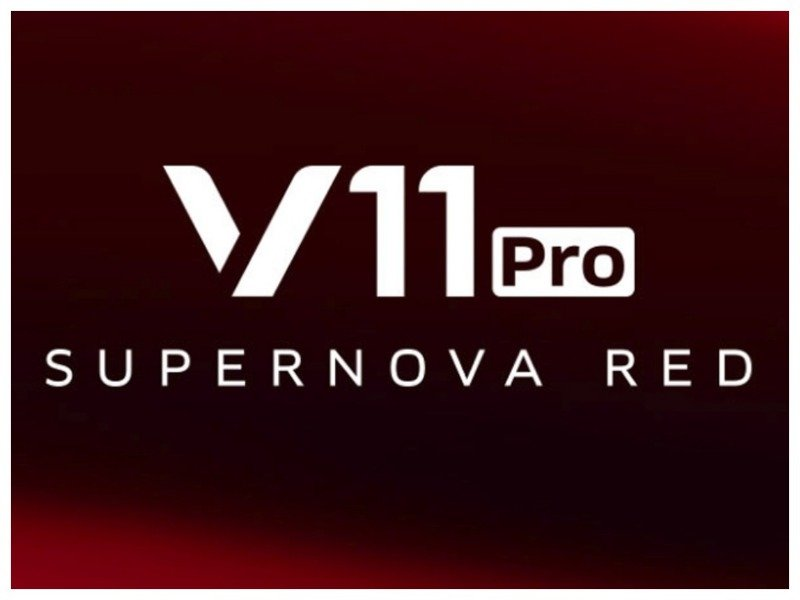 Vivo V11 Pro Supernova Red