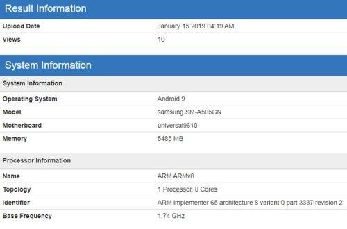 Samsung Galaxy A90 и A50