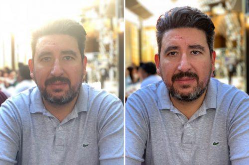 Сравнение камеры iPhone X и Xs при съёмке против света