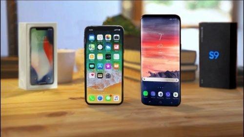 Что лучше: Samsung Galaxy S9 или Apple iPhone X