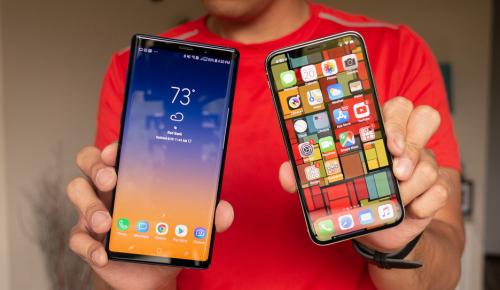 iphone и samsung дисплеи
