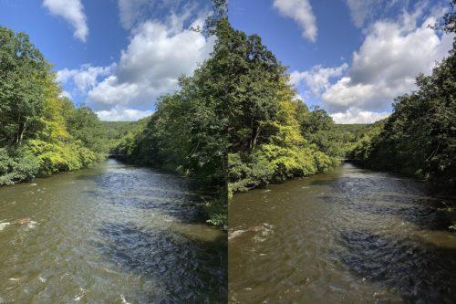 сравнение снимков iphone xs и samsung s9