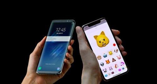 Samsung Galaxy S9 сравнение снимков с iPhone
