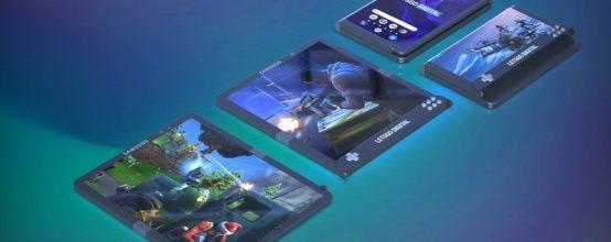 игровой смартфон со складным экраном