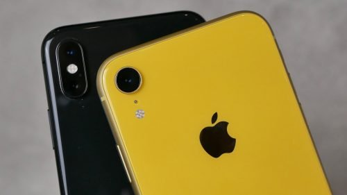 Чёрный и жёлтый iPhone