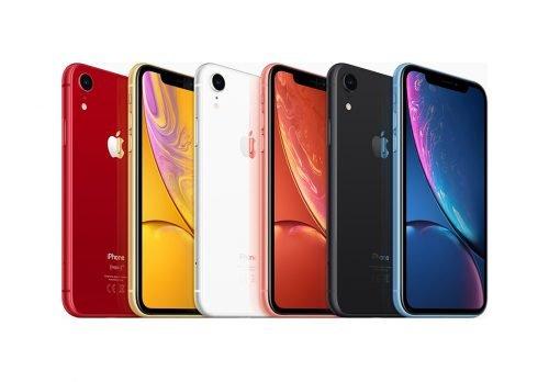 Цветовой ряд iPhone Xr