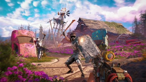 Скриншот боя в Far Cry New Dawn
