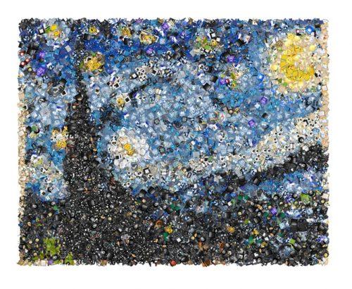 звездная ночь в эмодзи