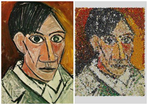 пабло пикассо автопортрет эмодзи