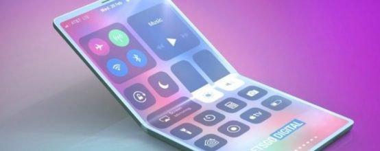 iPhone с гибким дисплеем
