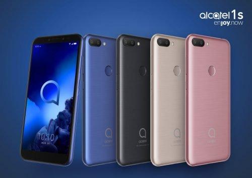 Alcatel 3 и Alcatel 1