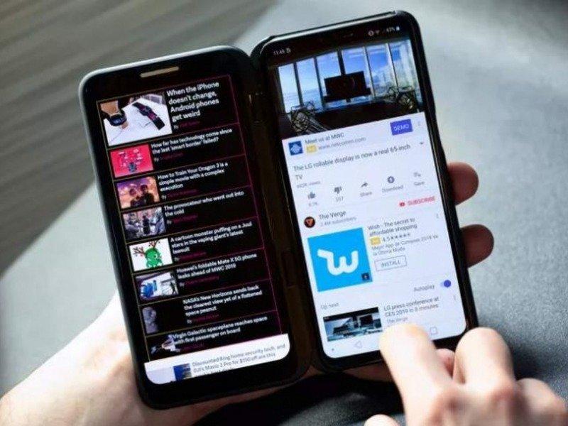 смартфон LG V50