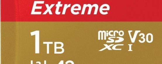 microSD объёмом 1 ТБ