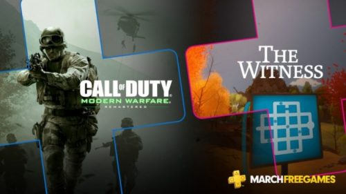 Call of Duty 4: Modern Warfare и The Witness