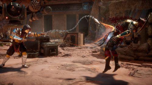Скриншот из игры Mortal Kombat 11