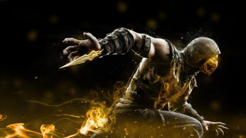 Skorpion из Mortal Kombat 11
