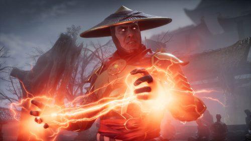 Рейден из Mortal Kombat 11
