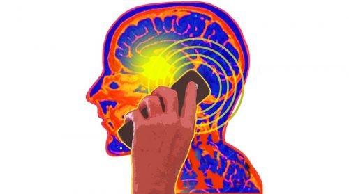 Воздействие излучения телефона на мозг
