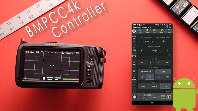 Приложение BMPCC4K Controller