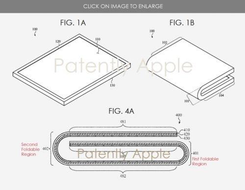 Патент Apple на производство сгибаемых гаджетов
