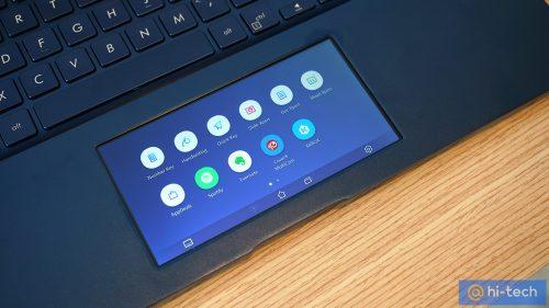 Концепция ScreenPad для новых ноутбуков