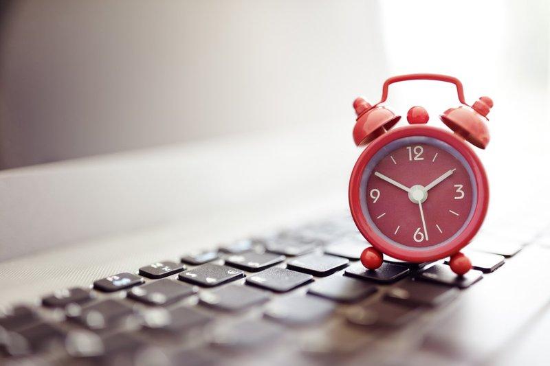 будильник на ноутбук