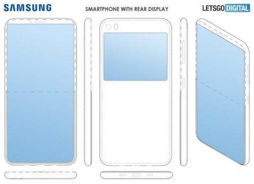 Samsung Rear Display Concept