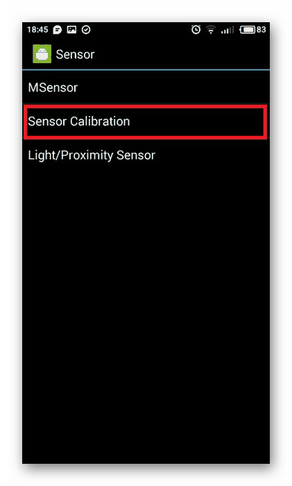 Sensor Calibration