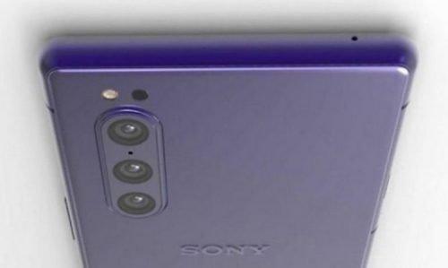 Unknown Three-Camera Sony Xperia