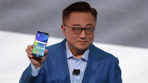 Президент компании Samsung