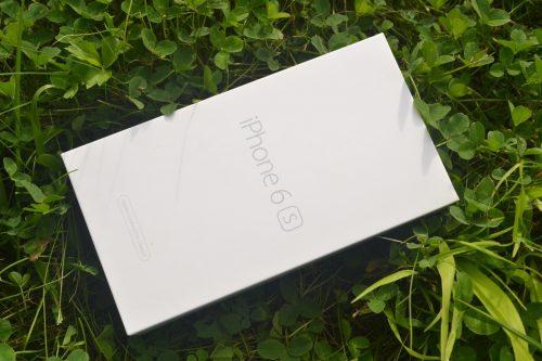 Коробка восстановленного айфона