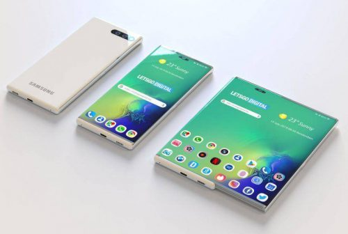 Samsung Galaxy S11 Early Renders