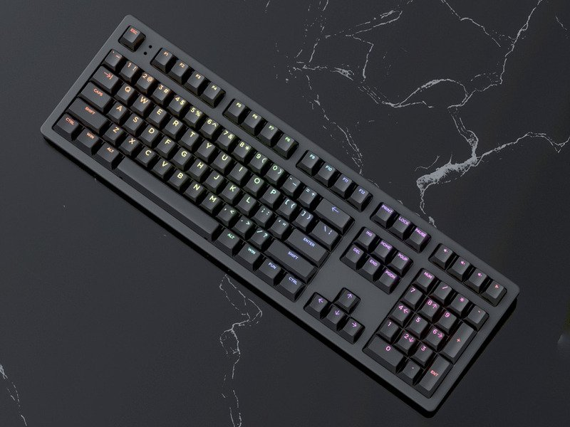 Keystone Mechanical Keyboard