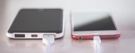 Телефоны на зарядке